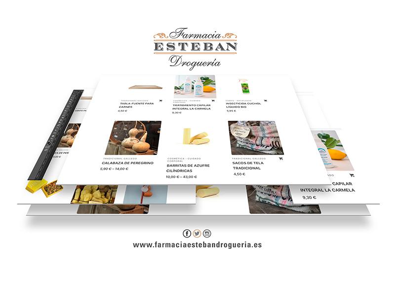 Farmacia Esteban Droguería - web
